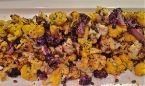 tri colore cauliflower
